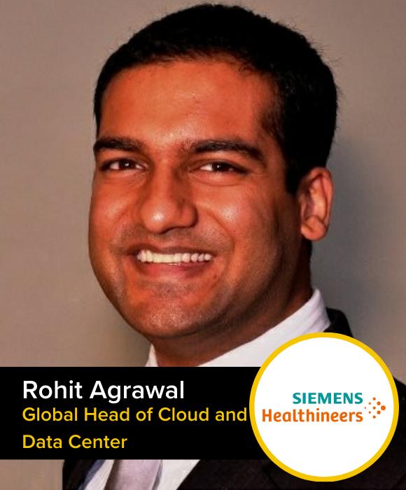 Rohit Agrawal | Global Head of Cloud and Data Center | Siemens Heathineers