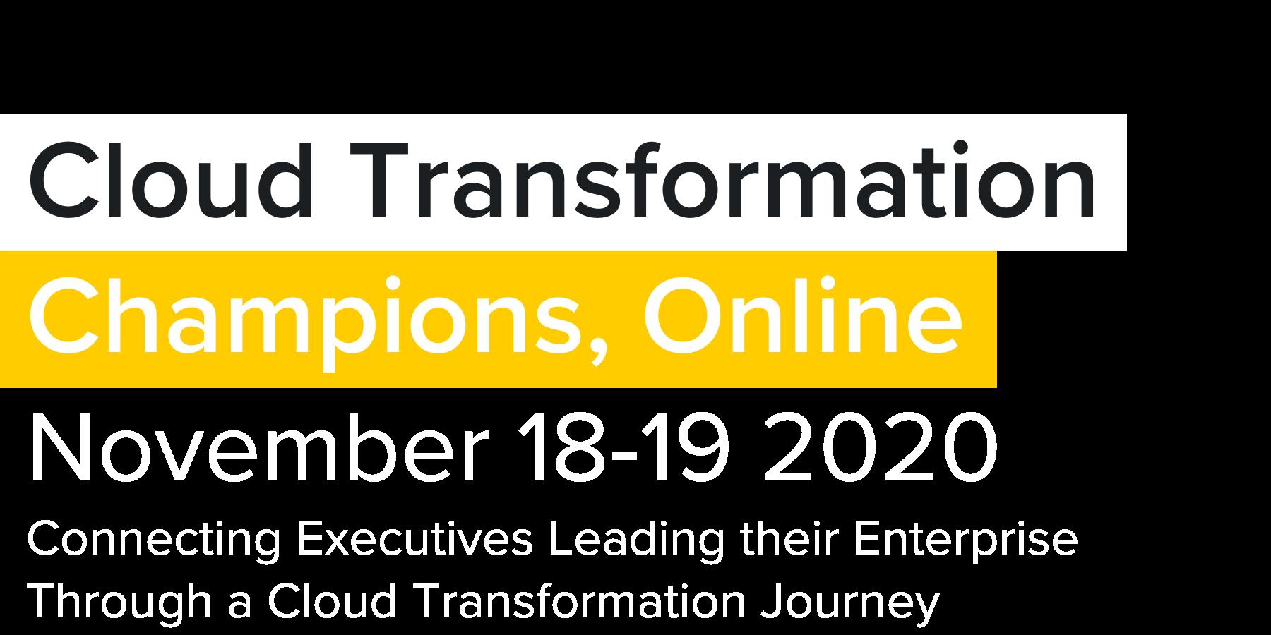 Cloud Transformation Champions Online US
